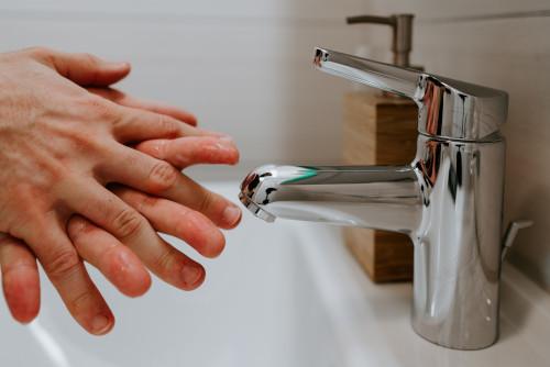Chrome Finish Faucet